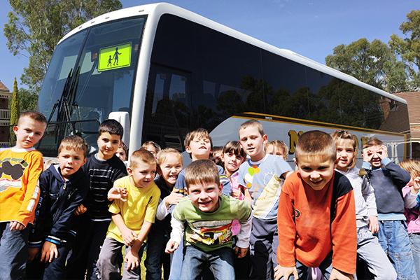 Newtons-Passenger-Buses-Children